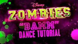 BAMM Dance Tutorial ZOMBIES Disney Channel