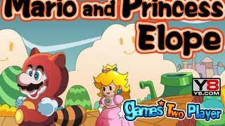 Mario and princess escape-Game Show
