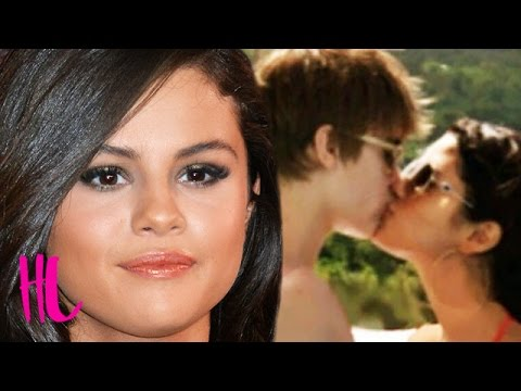 Selena Gomez Reacts To Justin Bieber Kissing Throwback Pic