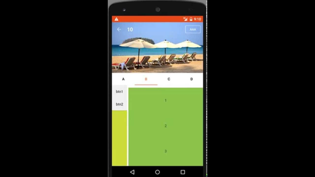 Android Parallax Scrolling Youtube