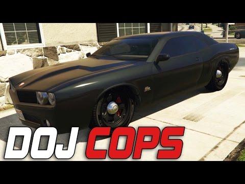 Dept. of Justice Cops #53 - Street Racers (Criminal)