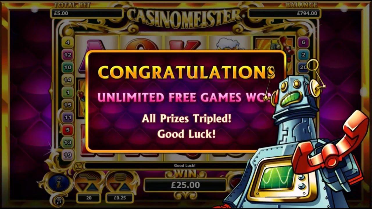 Big Slot Win 115 Free Spins On Casinomeister Slot Machine Youtube