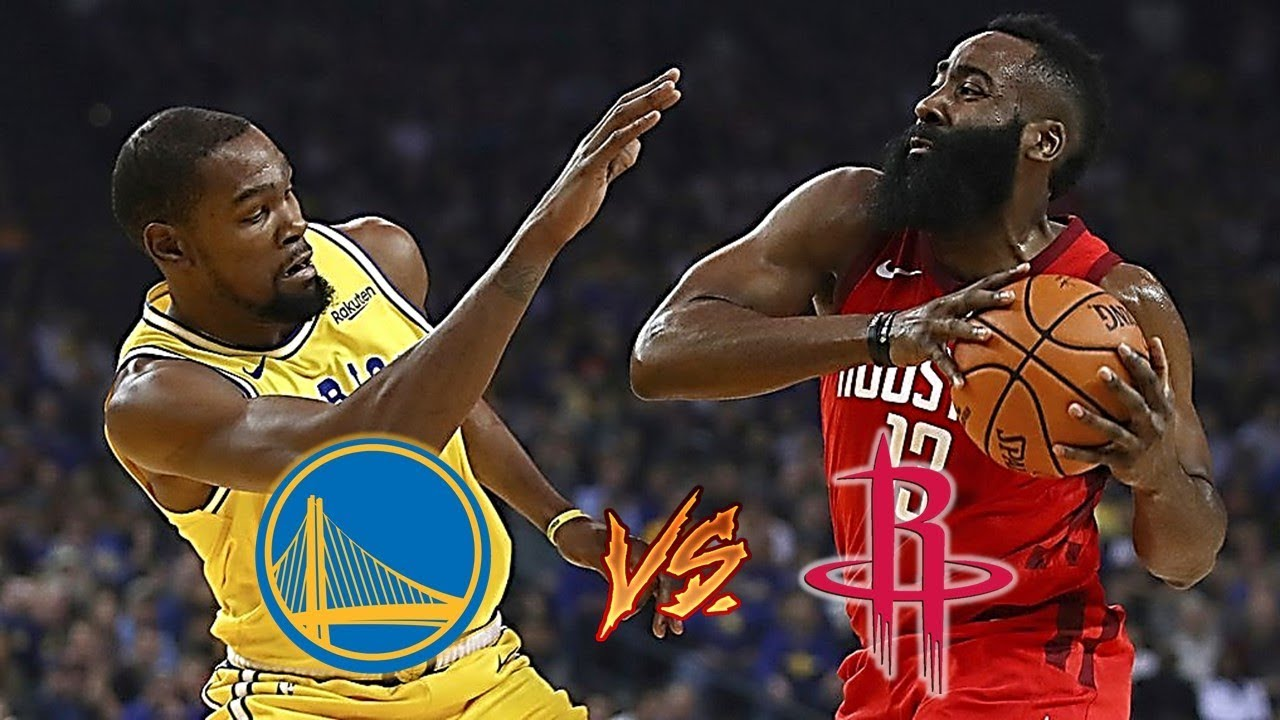 Rockets vs. Warriors Part 2 is here. Is anyone ready?