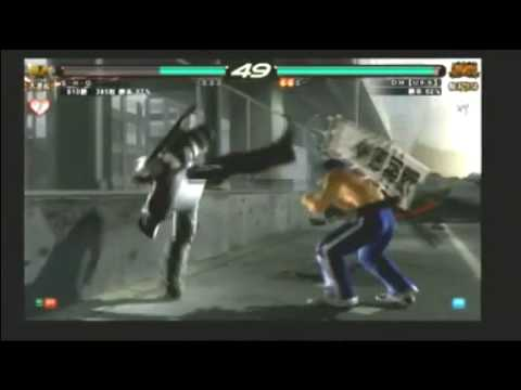 Tekken 6 BR - 3 on 3 : Miguel, Law vs Baek