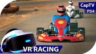 VR Racing - GT Sport - Kart Crazy VR Fun - PS4 Pro - Тесты Продолжаются