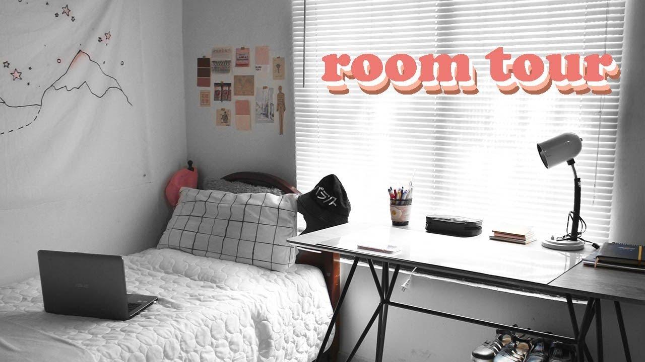 ROOM TOUR 2018 | Minimal, Tumblr Aesthetic