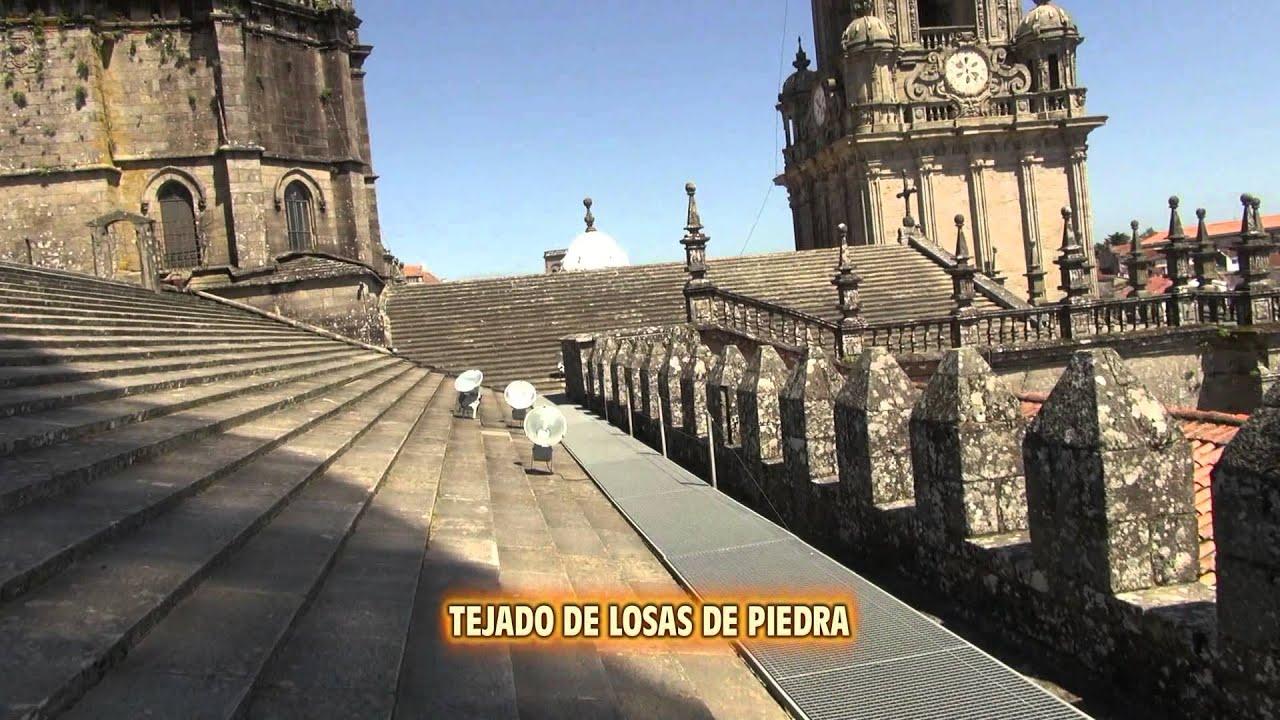 Catedral de santiago de compostela panoramica desde el for Tejados galicia