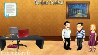Французский язык вместе с Жаком. Урок 4.