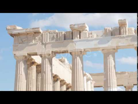 Travel View of Acropolis in Athens, Greece - Stock Footage | VideoHive 14384303