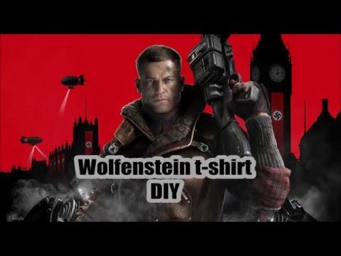 Wolfenstein T-shirt Tutorial / DIY