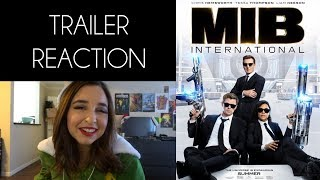 Men In Black International Trailer REACTION