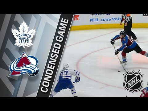 12/29/17 Condensed Game: Maple Leafs @ Avalanche