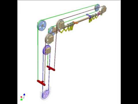 Cable Mechanism For Controlling Stage Curtains 1