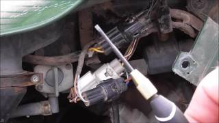 The simple and quick way to reset a flashing belt light on a Kawasaki ATV