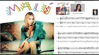 Aprendiz. Malú - Alejandro Sanz. Partitura flauta dulce.