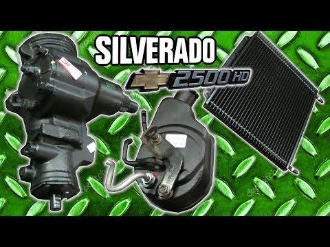 Silverado 2500HD Power Steering Pump, Steering Box, Cooler, Lines, Pitman & Idler Arm