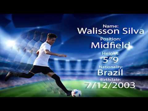 Walisson Silva, A Nova Promessa Do Futebol Mundial. The New Promise Of Soccer In The World