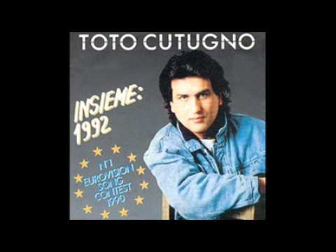 TOTO CUTUGNO - iNSIEME = together  italian/english lyrics