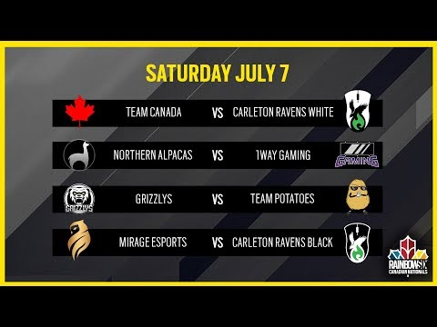 Rainbow Six Siege: LIVESTREAM Canadian Nationals Online Circuit | Week 2 - Day 1 | Ubisoft [NA]