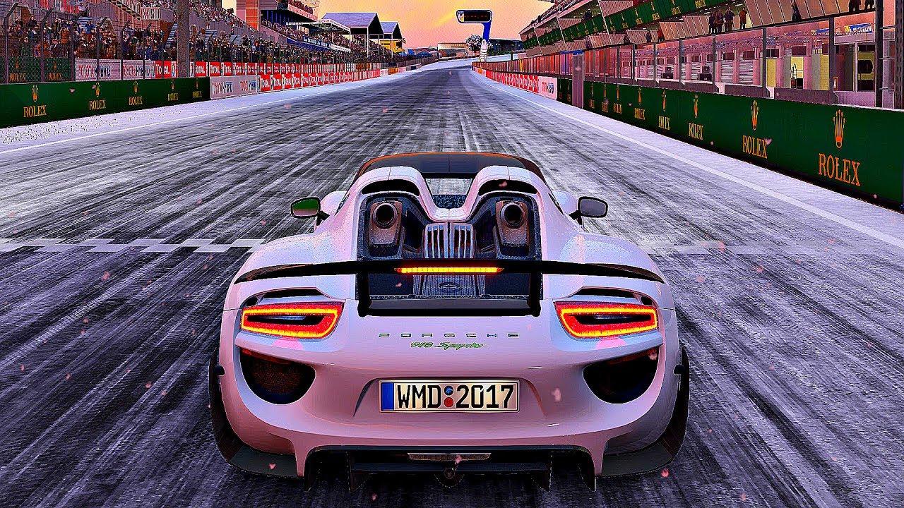 Project Cars 2 Gameplay Porsche 918 Spyder Le Mans 4k 60fps Ultra