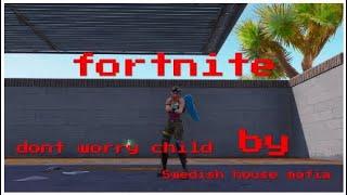 Fortnite canción no se preocupe niño swedishhouse mafia + código