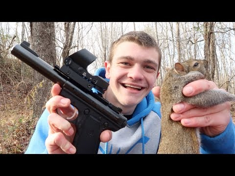 Squirrel Hunting with a Pistol!
