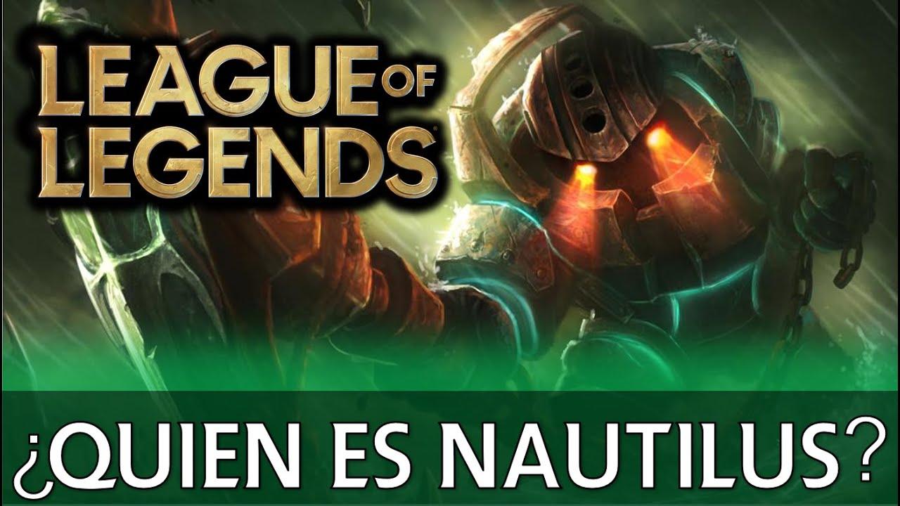 ¿Quién es Nautilus? EXPLICACIÓN // Universo LoL Explicado