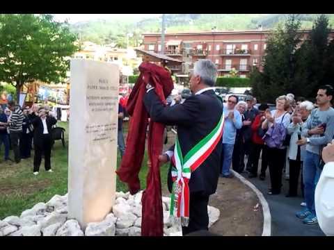 """Inaugurazione del parco """"Padre M. Celli"""""""