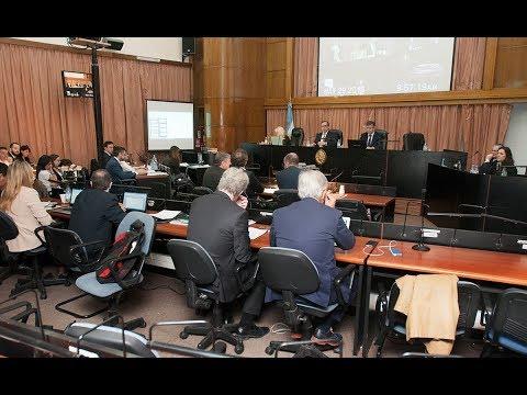 Alegato de la Fiscalía en el juicio oral por el caso Ciccone