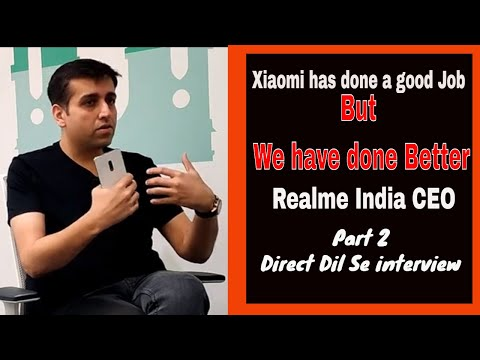 Video: We have done a better job than Xiaomi: Realme India CEO