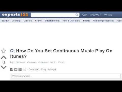 how to play continuous music on youtube on ipad