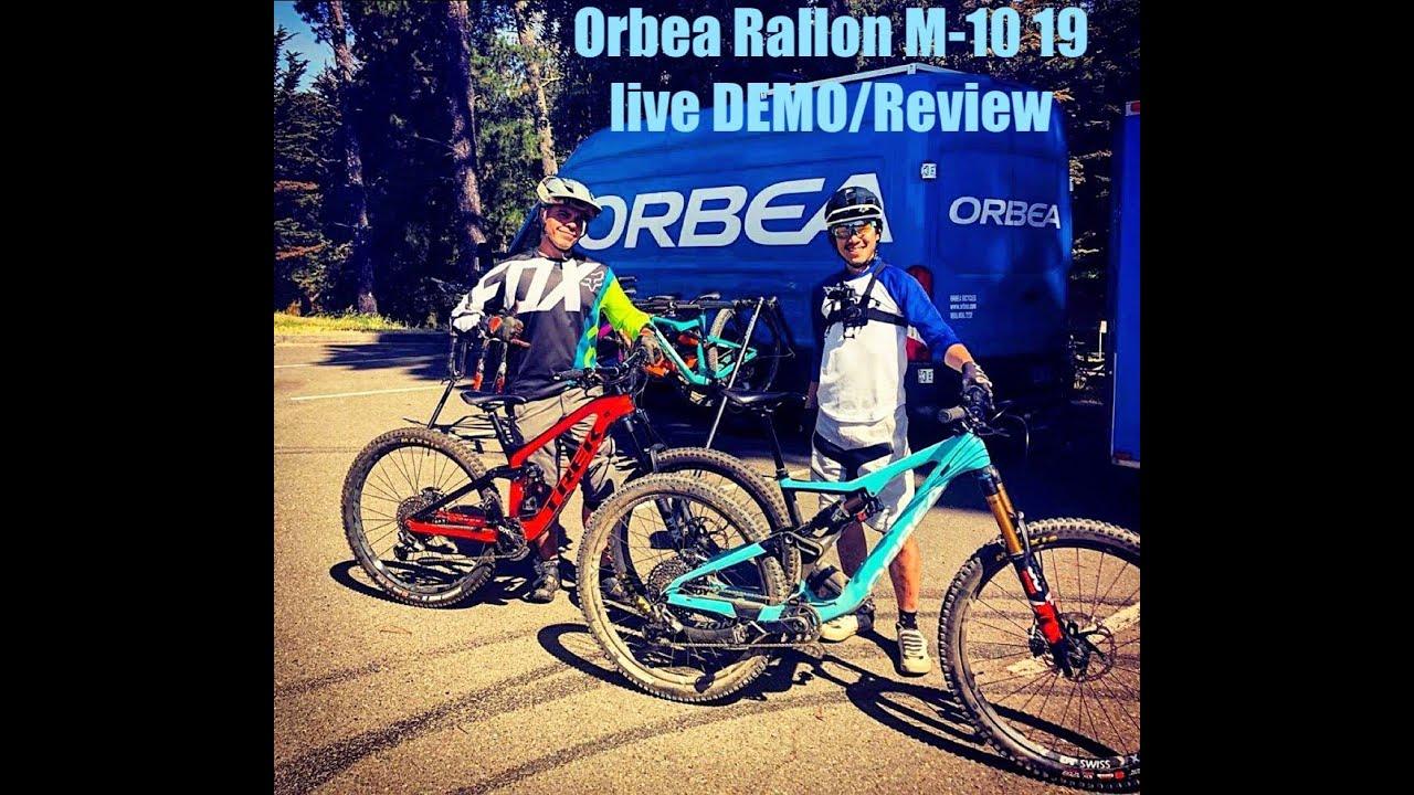 faae4c8f0c2 Orbea Rallon M-Team 2019 - Demo Review - YouTube