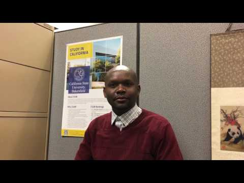 Study Abroad | Vincent from California State University, Bakersfield at Study Metro Fair