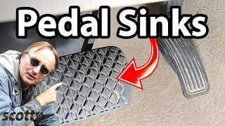 How To Fix A Brake Pedal That Sinks In Your Car (Brake Master)