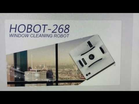 2017 AWE Shanghai exhibition_HOBOT Glass Cleaning Robot / Windows Cleaning Robot