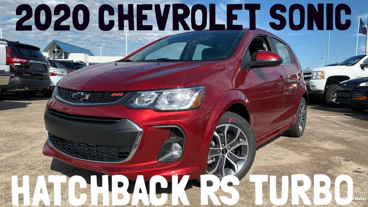 2020 Chevy Sonic Pricing