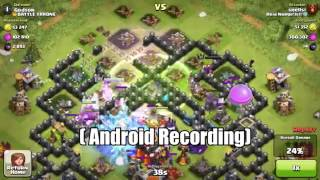 Clash of Clans - Android vs Iphone vs PC