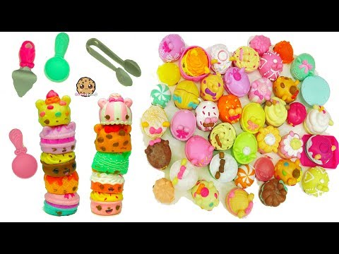 Num Noms Series 4 Cookies & Milk, Tea Party Packs with LipGloss + Surprise Blind Bag Cups