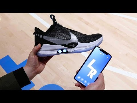 Muss - NIKE Unveils Adapt BB Shoes You Tie Using An App