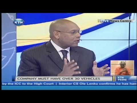 New psv rules to curb rising accidents interview with vyonne okwara and Nduva Muli