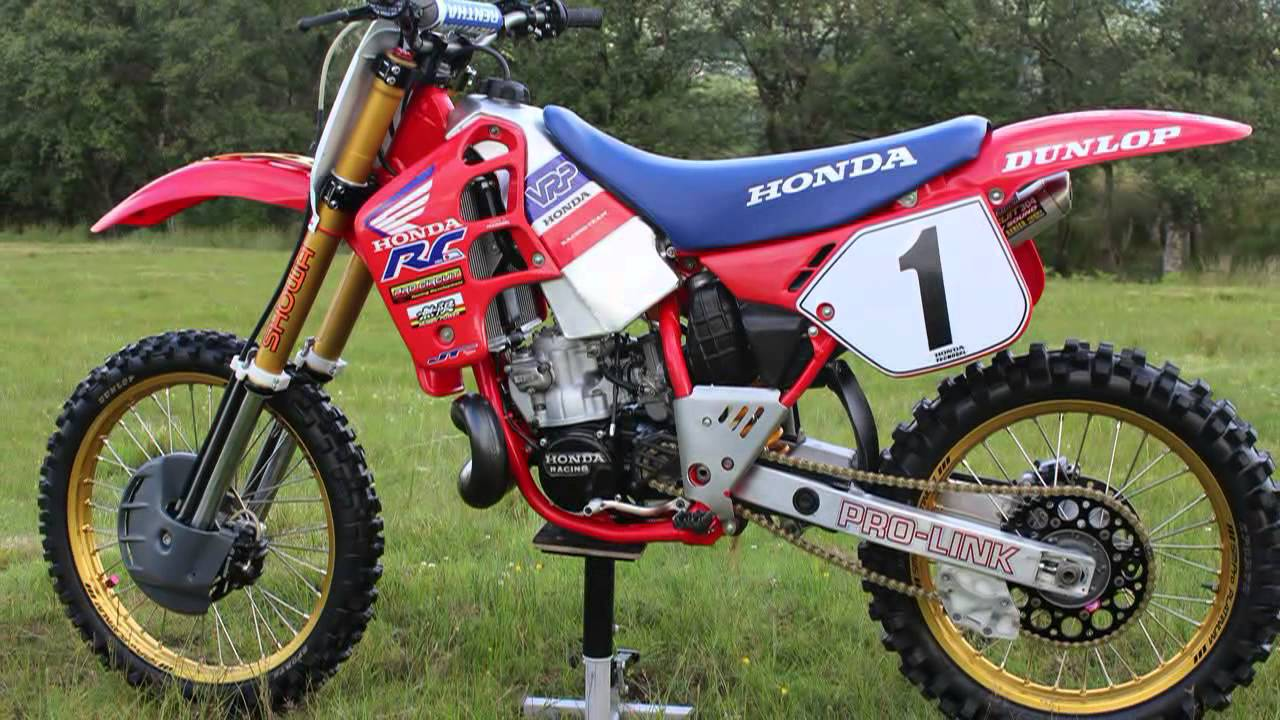 classic honda dirt bikes youtube