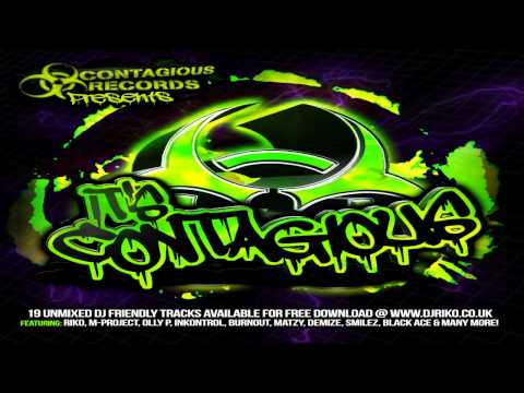 Contagious Presents... It's Contagious Powerstomp/UK Hardcore Mix 2014/2015 (Mixed by KyuubiRaver)