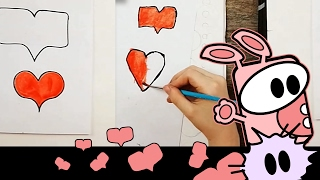 how to draw a perfect heart