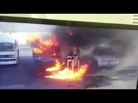 Petrol Station fire in South Africa