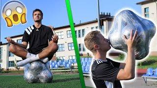 STWORZYLIŚMY WŁASNĄ PIŁKĘ ! - Eksperyment Piłkarski | GDfootball
