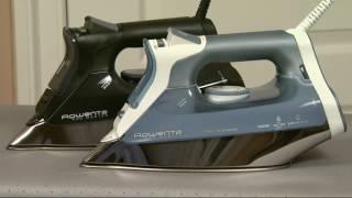 Rowenta ProMaster Steam Iron w/Platinium Soleplate on QVC