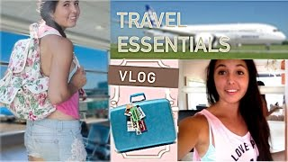 Traveling Essentials! + Packing Vlog Thumbnail