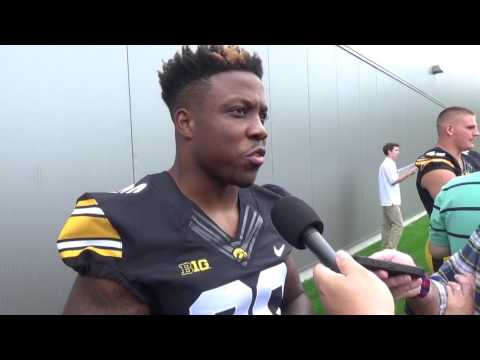 Transfer RB James Butler Always Knew he Wanted to go to Iowa