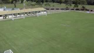 Panorâmica dos gramados do CT do Sport Club do Recife em Paratibe