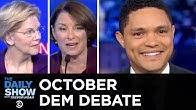 2020 October Democratic Debate in Ohio | The Daily Show